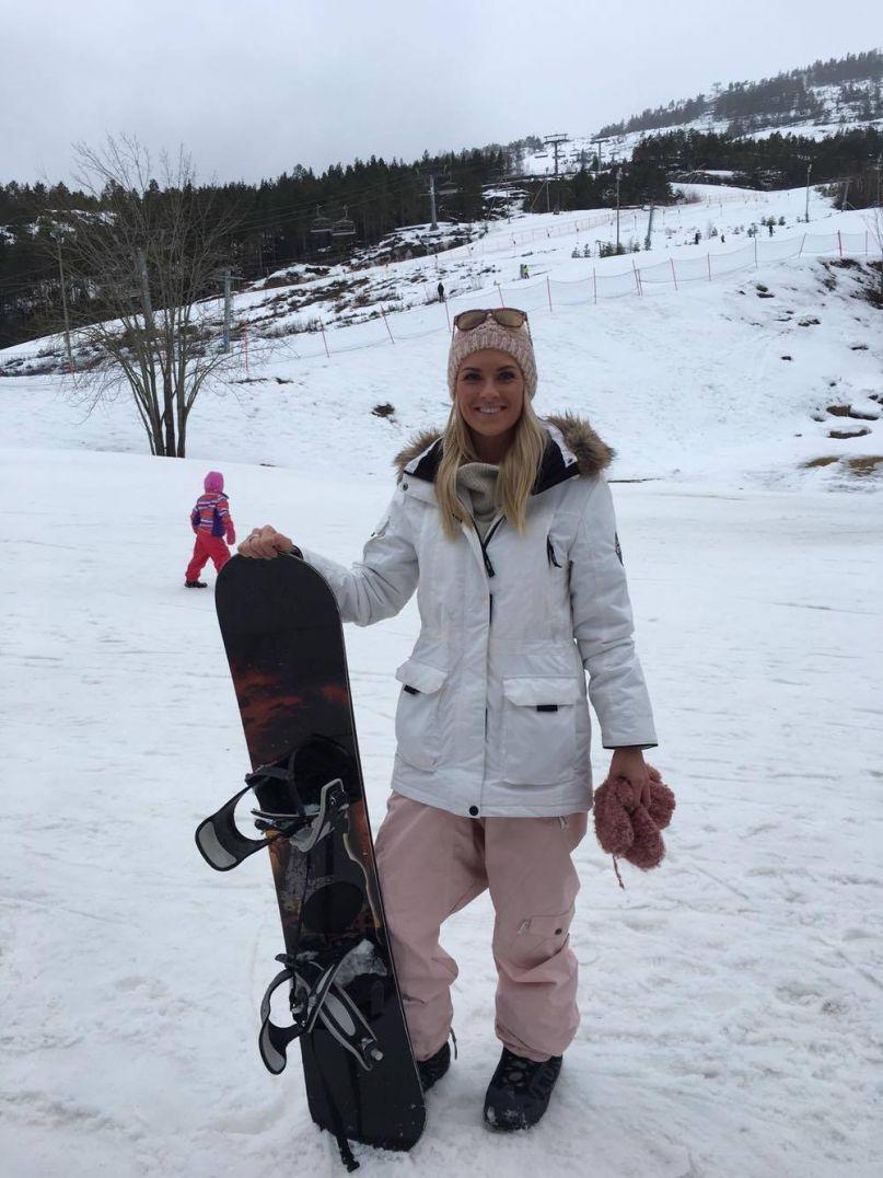 Fra stilettheler til snowboardsko!
