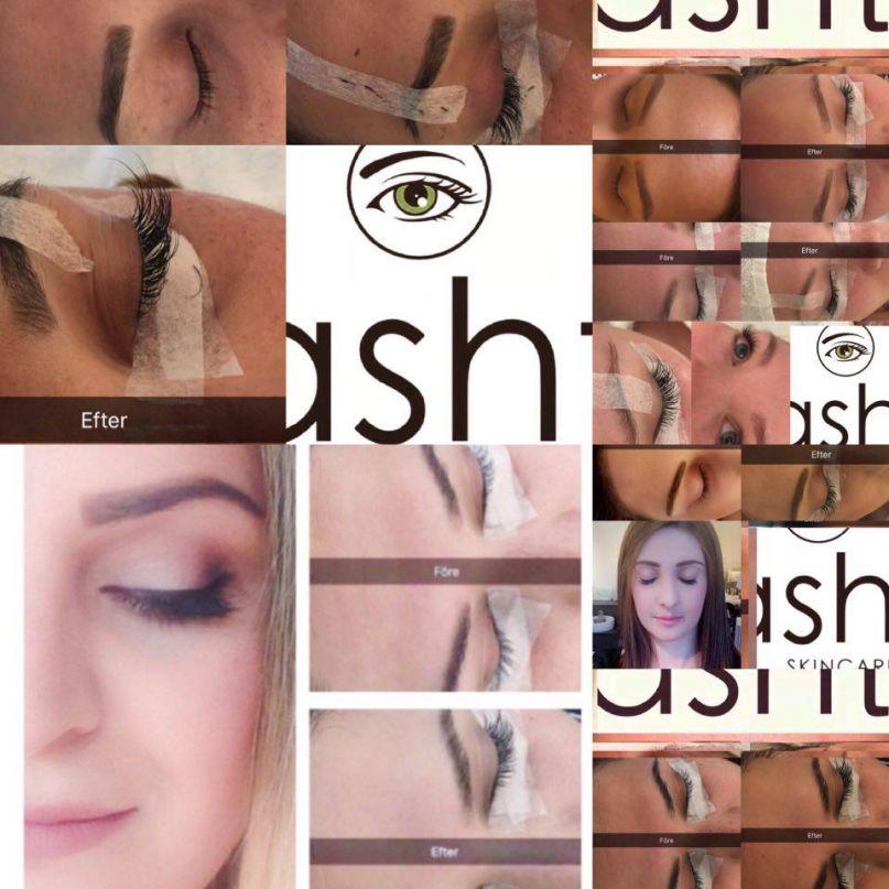 Ønsker DU lekre vipper av silke og øyer som virkelig popper? Ashti Skin Care.
