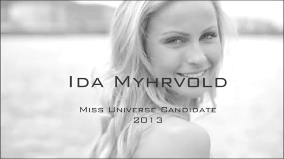 Min presentasjonsvideo for Miss Universe Norway 2013.