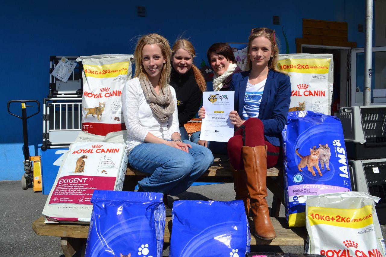 Gir sponsorpenger til Dyrebeskyttelsen