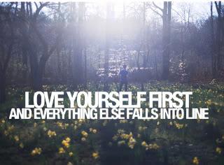 Elsk deg selv nok til å vite hva du fortjener