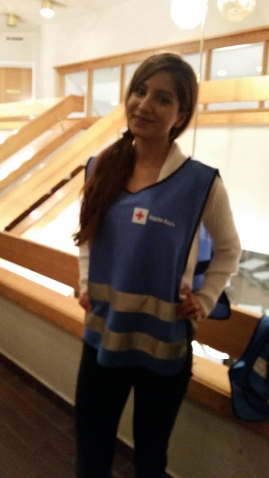 Røde Kors kurs og frivillig vakt