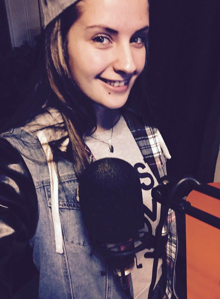 Mitt første radio intervju